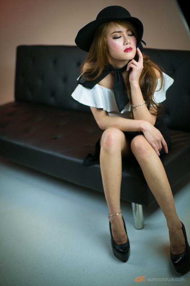 Weekly modeling shoot