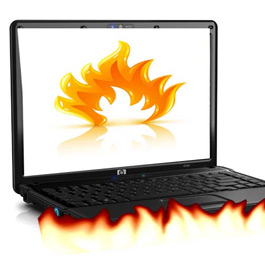 Laptop Overheat Repair