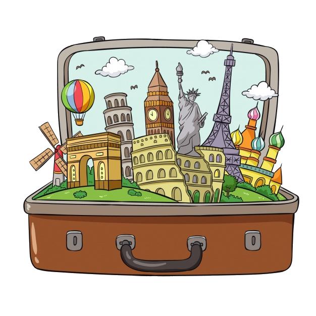Картинки для путешествий нарисовать
