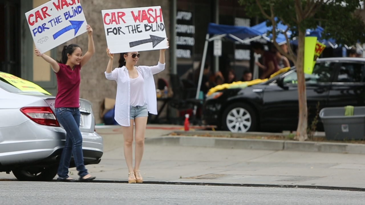 Car Wash for the Blind 2013