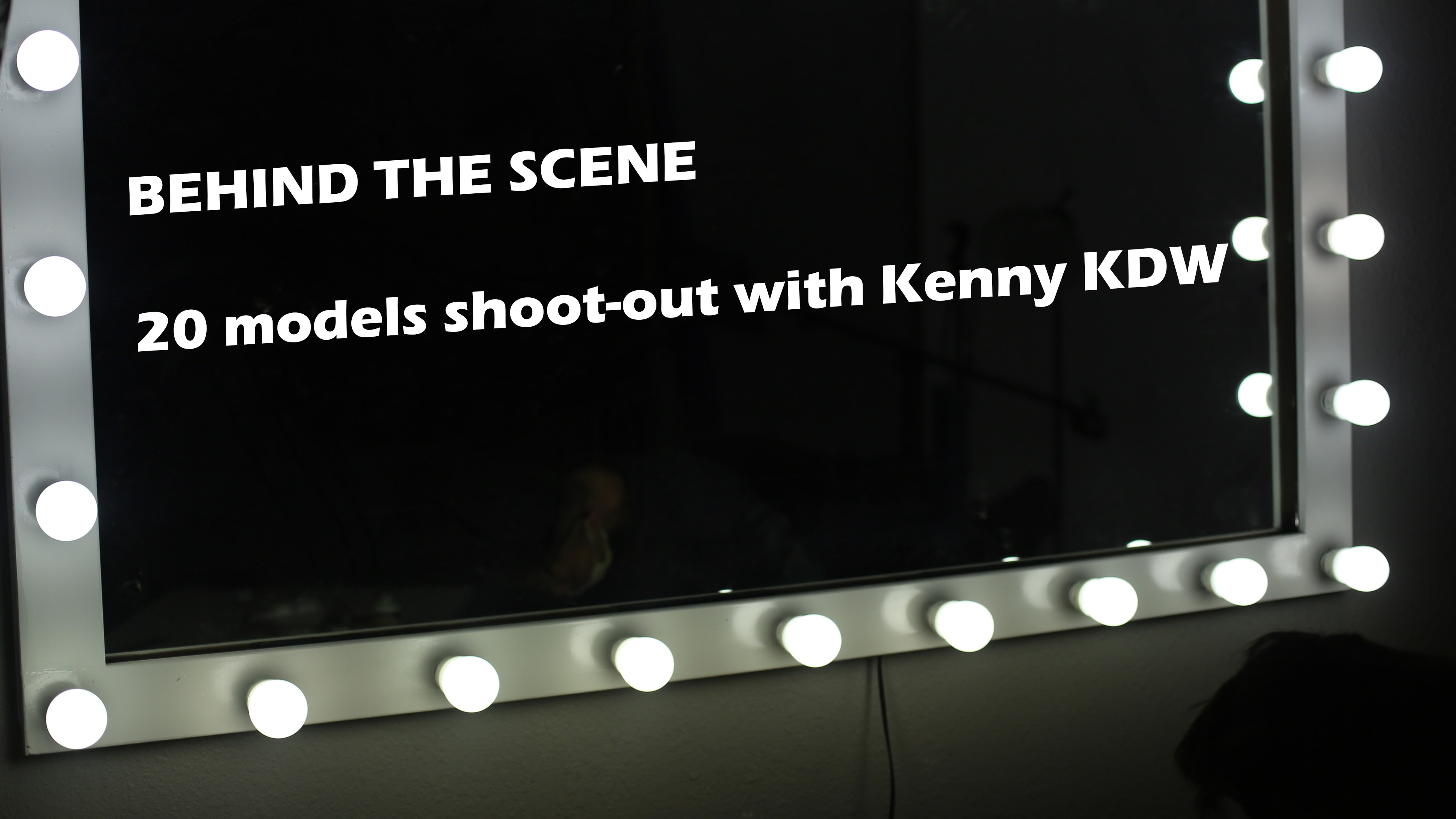 20+ models shoot out with Kenny KDW